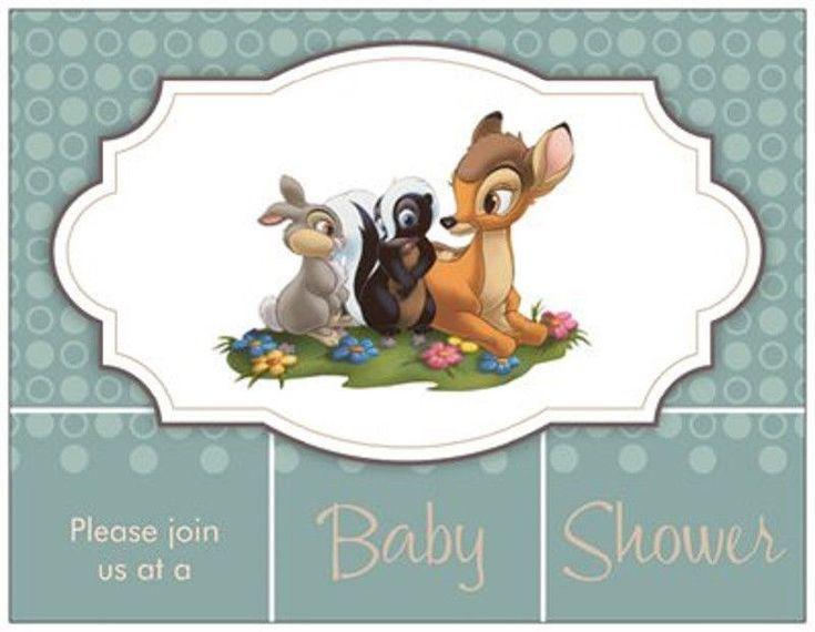 16 best Bambi baby shower images on Pinterest Shower ideas