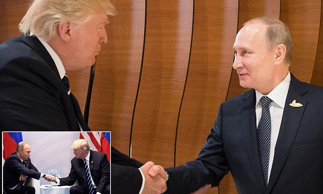 Trump wins first handshake with Putin at G20 summit