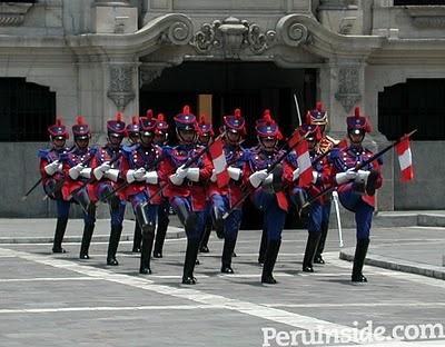 husares de junin - The Gards of the President
