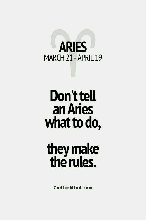 For Aries