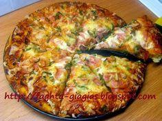 Πίτσα Γκουστόζα (gustosa) - Τα φαγητά της γιαγιάς