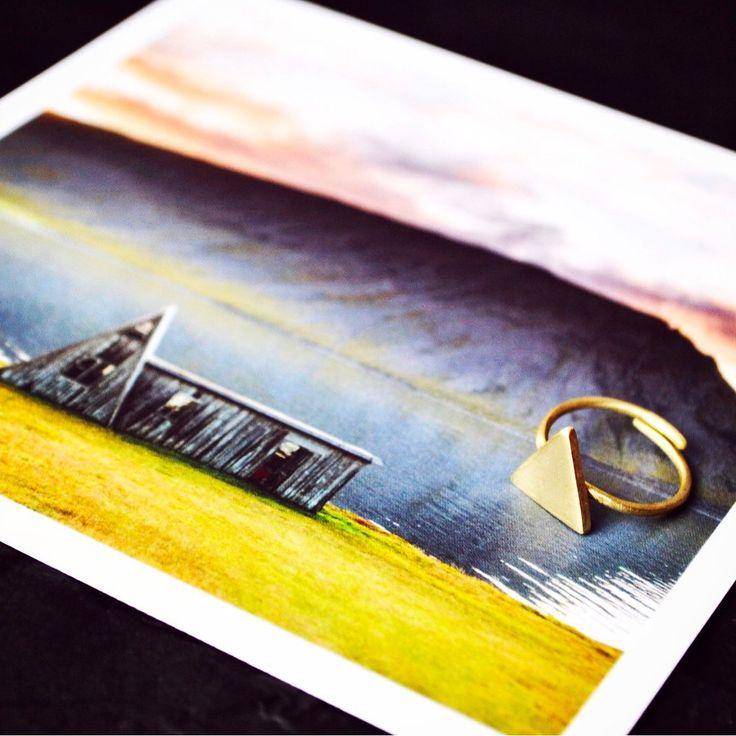 Inspiration is everywhere...   #handmadejewelry #ringstack #jewelrygram #handmadering #trianglering #instajewelry #jewelrylover #geometricjewelry #jewelryphotography #stackablering #ringstagram #handmadeisbetter #ootd #adventureawaits #triangle #triangles