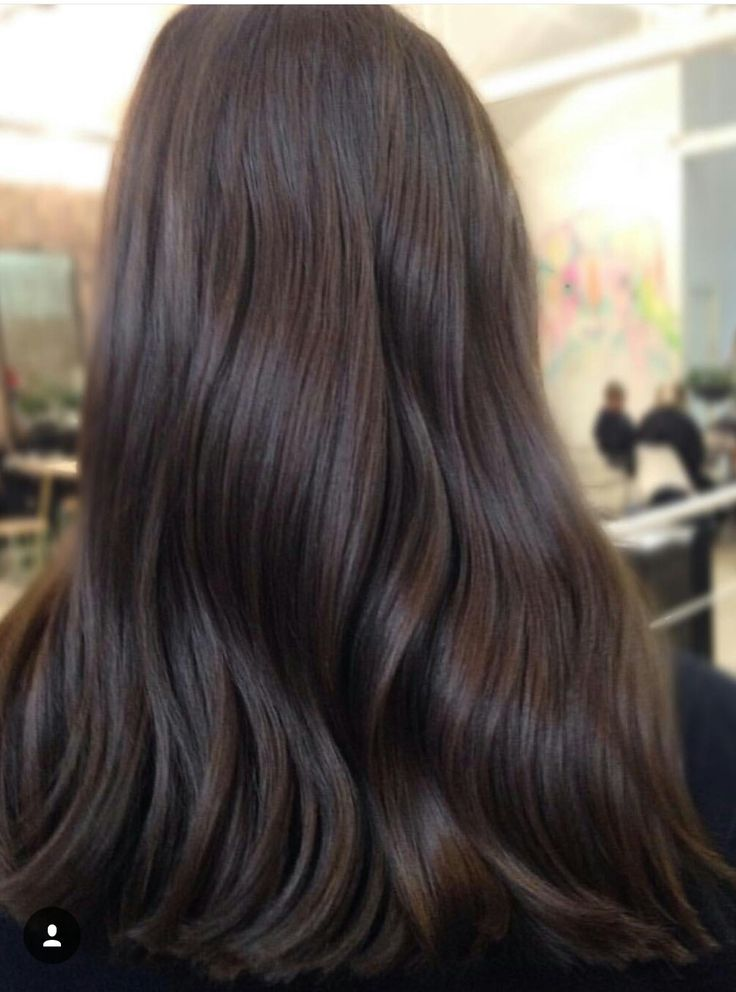 Rich chocolate brown | Dark brown hair rich, Brunette hair ...