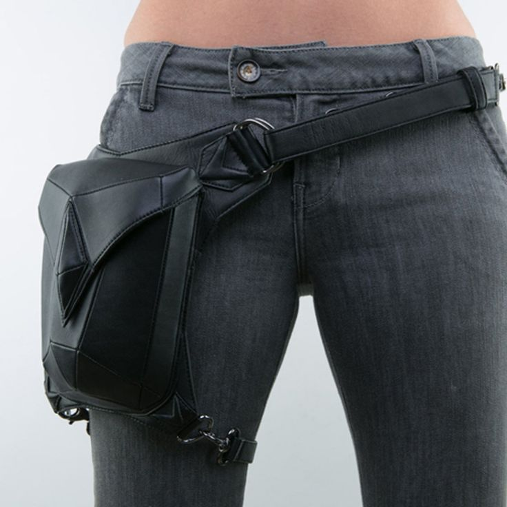 Top Quality PU Leather New Men Women Motorcycle Ride Drop Hip Leg Bag Messenger Shoulder Punk Rock Belt Waist Fanny Pack Purse-in Waist Packs from Luggage & Bags on Aliexpress.com | Alibaba Group