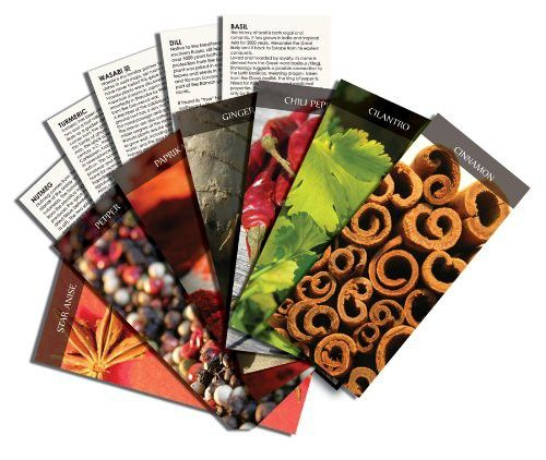 Spice: World's Great Flavors and Their Stories - boxed  spice reference-card deck