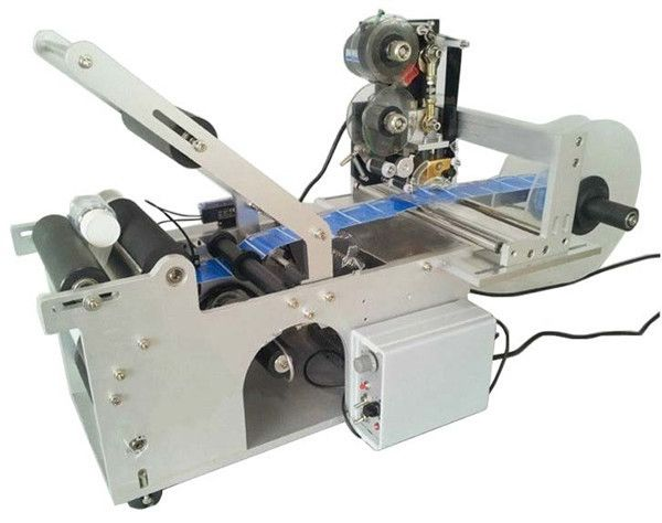 700.00$  Buy now - http://ali8wn.worldwells.pw/go.php?t=32737946656 - Best price Hot Sell Manual Wine Bottle Labeler with Date Code 700.00$