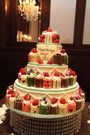 ロールケーキ タワー - Google 検索