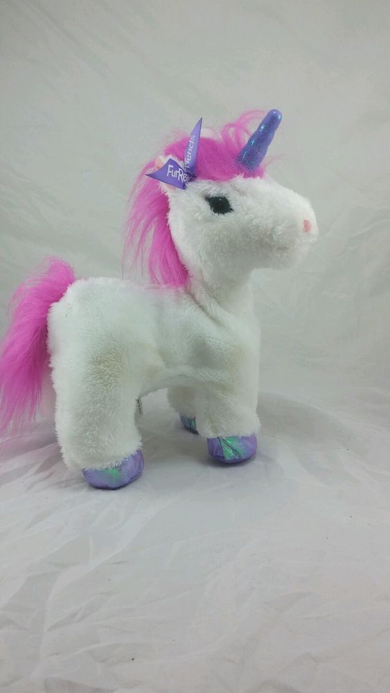 "Furreal Friends Fantasy Collection Starbeam My Walkin Unicorn Pet Plush 10"" in Toys & Hobbies, Electronic, Battery & Wind-Up, Electronic & Interactive 