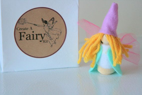 Create A Fairy Craft Kit by Zooble