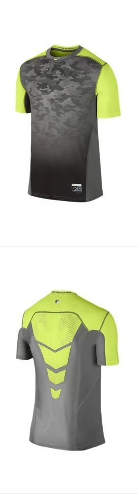 Baseball Shirts and Jerseys 181336: Nike Pro Combat Hypercool Short Sleeve Men S Baseball Shirt Men S M *Nwt* -> BUY IT NOW ONLY: $50 on eBay!