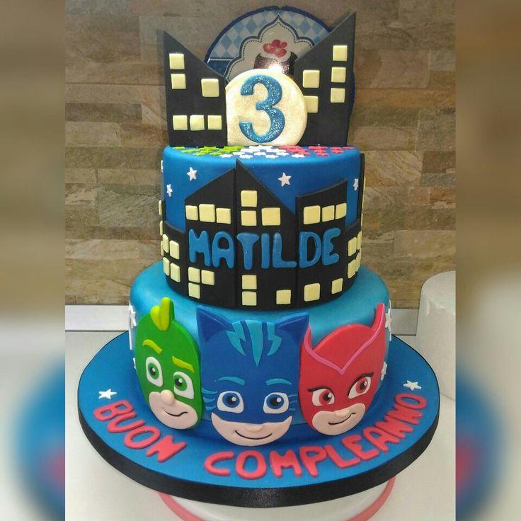 Torta super pigiamini... PJ Masks cake
