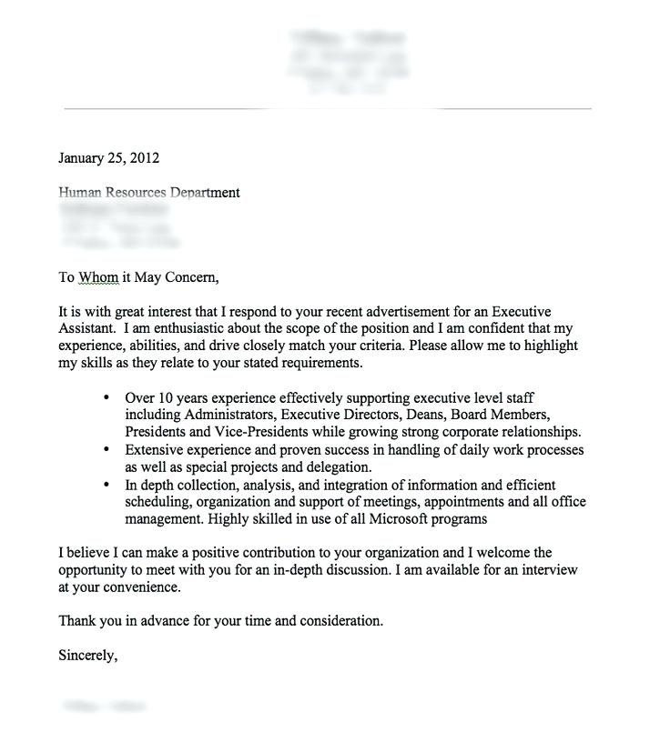 Cover Letter Template Reddit Cover Letter For Resume Good Cover
