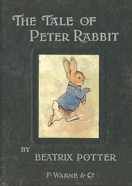 The Tale of Peter Rabbit.  This is the book that when I look back, this is the book that I know that I have read time and time again and i can honestly say is my childhood favorite