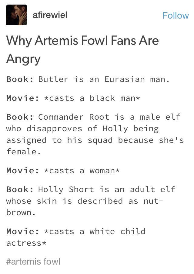 Best Artemis Fowl Movie Images On   Artemis Fowl