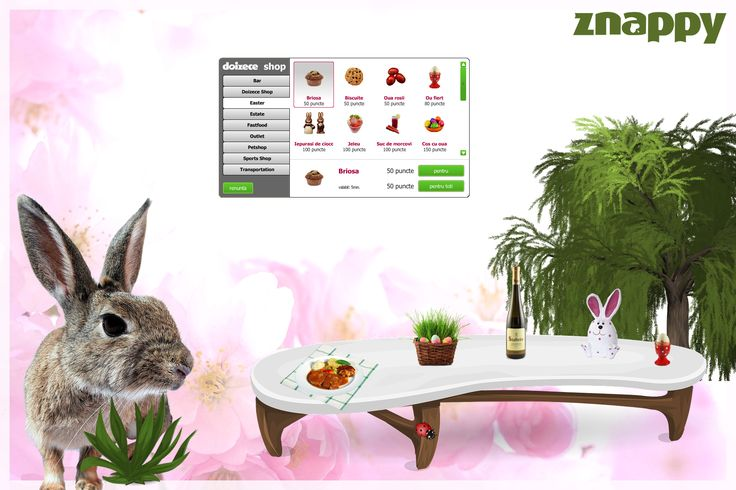 We are preparing for holidays. Watch in Doizece Shop what gifts we made for Easter. How do you prepare for Easter?  #ZnappyGames #Easter #Bunny #Lamb http://www.doizece.ro/