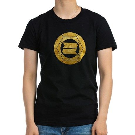 Hattori clan kamon in gold T-Shirt on CafePress.com