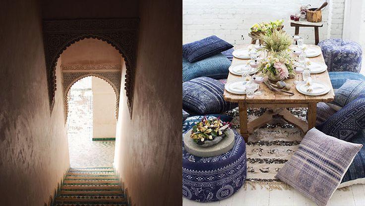 Vuoi una casa più calda e accogliente? Prova ad arredarla in stile marocchino!