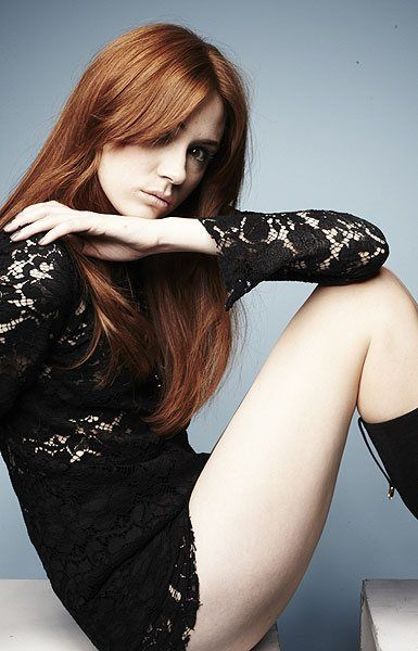 Exclusive pictures: Karen Gillan's Radio Times cover shoot | Radio Times