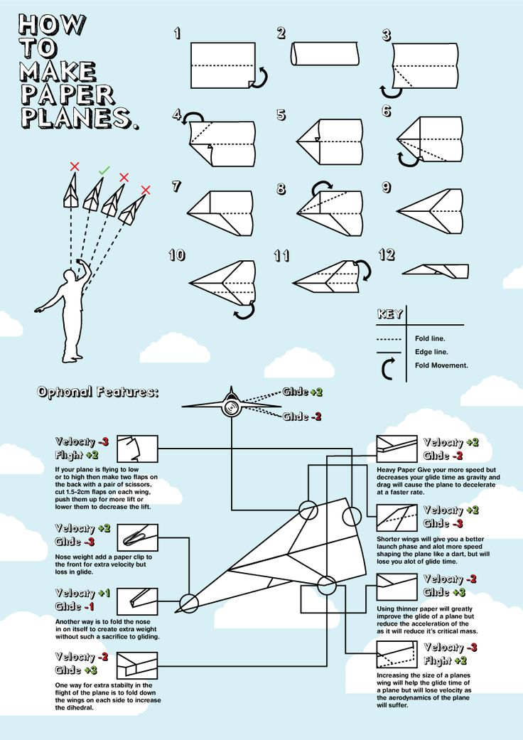 f15 paper airplane instructions