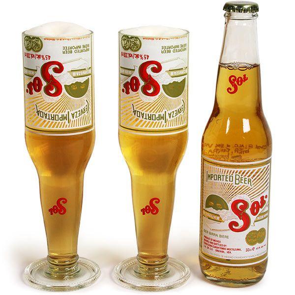 Best 25 Beer Bottle Glasses Ideas On Pinterest Cutting