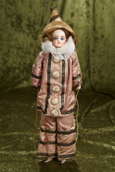 "14"" French bisque doll as... Auctions Online 