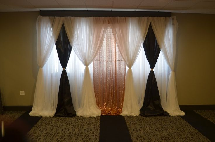 Gatsby Themed Backdrop Draping Rental #backdrop #wedding #decor #decorator #Maryland #rental #lady sangeet #Indian #Pakistani #event #draping #arch #ceremony