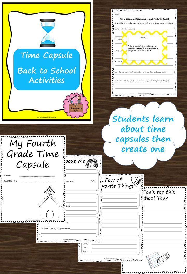 Time Capsule Worksheet Girl Scout Activity: Best 25+ Time Capsule School Ideas On Pinterest