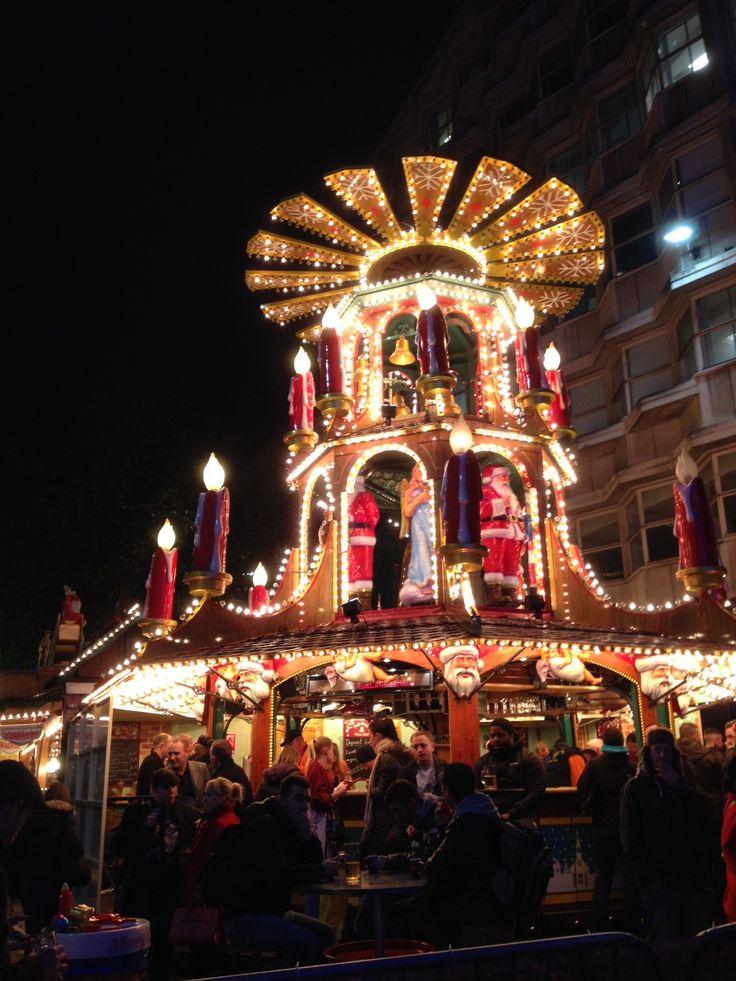 Frankfurt Christmas Market in Birmingham, West Midlands