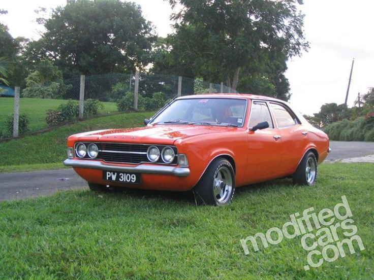 Modified Ford MK3 Cortina GT 2000 1969 Picture