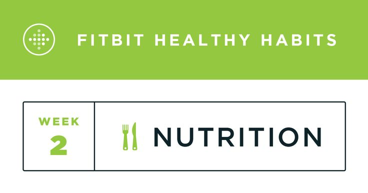 Healthy Habits Week 2: Nutrition