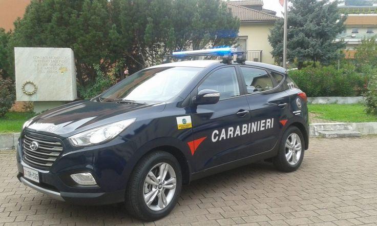 Hyundai ix35 Fuel Cell: nella flotta dei Carabinieri arriva il primo SUV a idrogeno