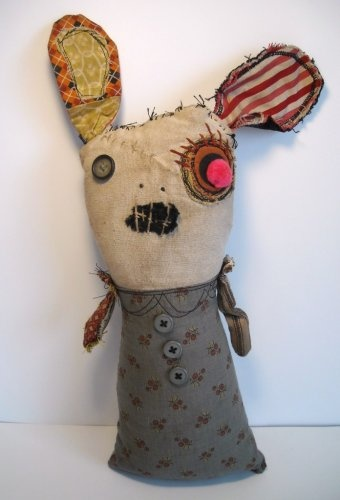 Monster Rabbit Elsinore, 2011, by Catherine Zacchino, a.k.a. Junker Jane.
