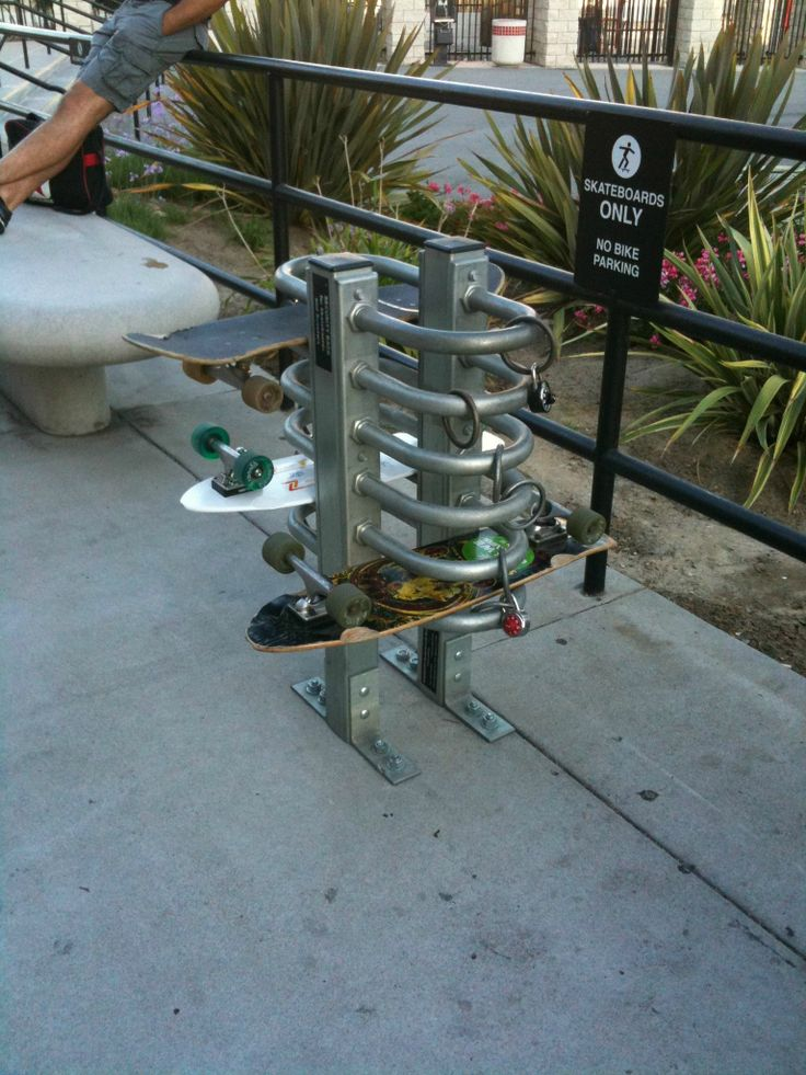 More places need these! #SkateboardLove