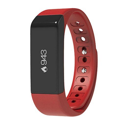 Inkach Smart Watch I5 Plus Bluetooth 4.0 Sports Tracking Call Message Reminding Smart Watch (Red )   General: Bluetooth version: Bluetooth 4.0  People: Unisex Waterproof: YES (Living Waterproof) Waterproof Rating: IP67  Colors