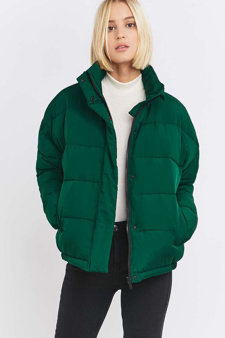 Light Before Dark Cropped Puffer Jacket
