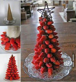 árvore de morango