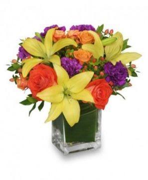 Renklerin Coşkusu |Balıkesir Çiçek Sevgiliye Özel :) Hızlı Teslimat