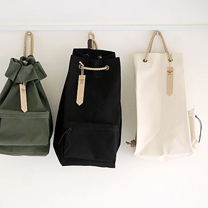 Sailcloth Bag by Triton Cafe x Works.