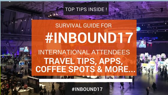 #inbound17 The first time I attended Inbound, Hubspot sent me to help with some workshops and onsite trainings. The whole event went by in a flash. I was running from meeting to meeting catching up with colleagues and clients both day and night.