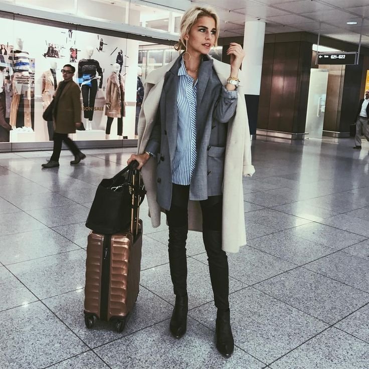 good airport outfit ideas winter