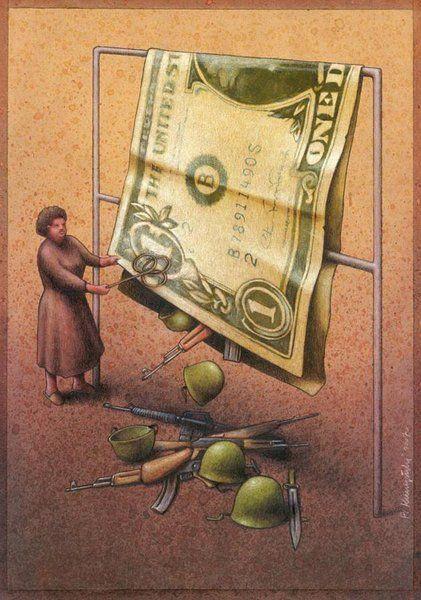 Top 30 des illustrations satiriques de Pawel Kuczynski qui balancent grave