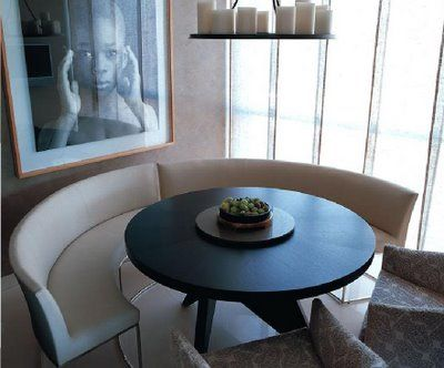 seating is designed by Kelly Hoppen