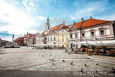 Maribor, The Main Square. Slovenia. - Download From Over 47 Million High Quality…