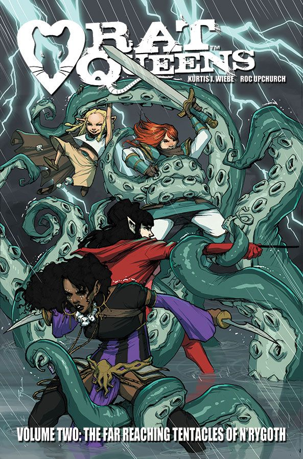 9th art by Stella: Rat Queens: News & Weirds