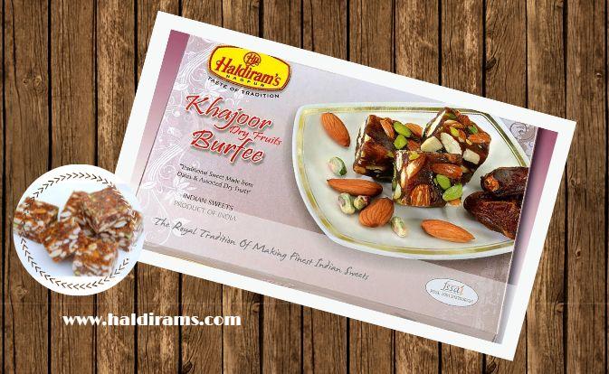 #HaldiramKhajoorBurfi #HaldiramNagpur Visit : http://www.haldirams.com/sweets/khajur-dryfruits-burfee.html