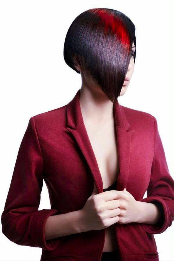 1001 id es pour une coupe asym trique les coiffures de. Black Bedroom Furniture Sets. Home Design Ideas