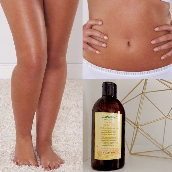 How To Make My Own Natural Tanning Indoor Oil
