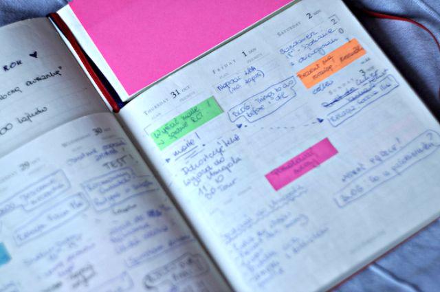 Organizacja czasu - Moje sposoby i porady   Bo ma być mrucznie - Lifestyle blog