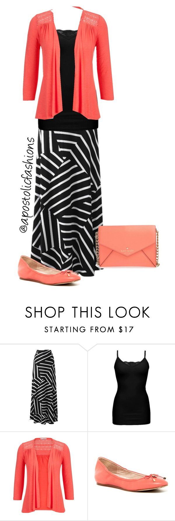 """Apostolic Fashions #866"" by apostolicfashions on Polyvore featuring BKE, maurices and Kate Spade"