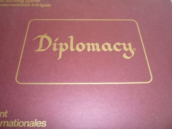 Vintage c. 1971 and MINT Diplomacy board game by BuyfromGroovy